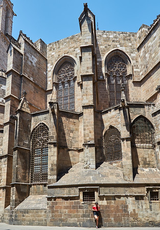 Exterior of Cathedral of Barcelona4