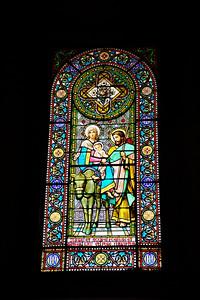 Montserrat_Basilica_window-HF+donkey_D3S0134