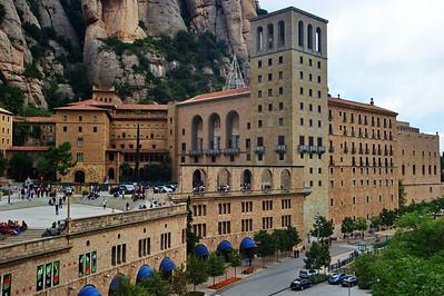 Montserrat:  Monestary & Basilica