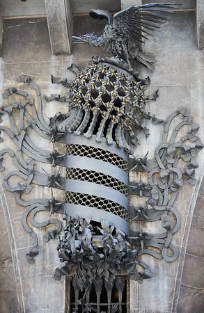 Detail from Palacio Güell by Antono Gaudi, Barcelona