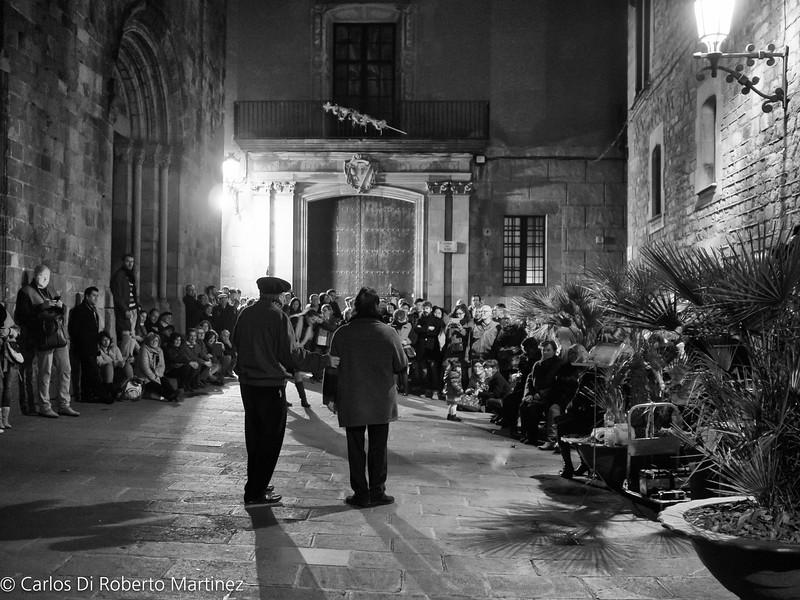 Opera Singers at Gothic Quarter