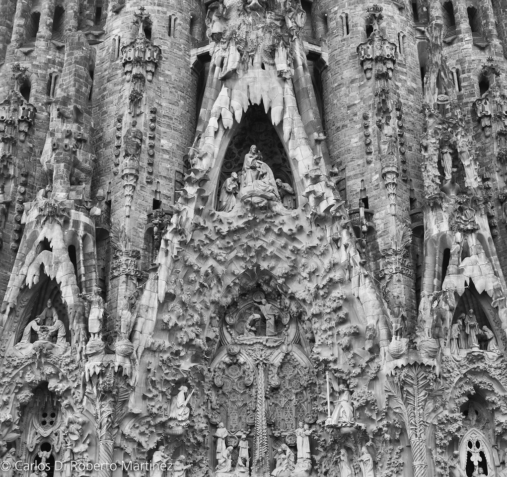 La Sagrada Familia by Gaudi