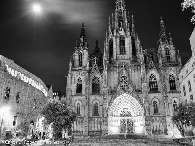 Barcelona Cathedral at Gothic Quarter