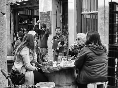 Street Musicians at La Boqueria Market