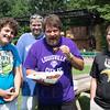 Dyllen Cecil, Chad Dalton and Dave and Damian Cecil.