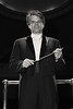 (Converted to Black & White) Symphony Conductor Randall Craig Fleischer