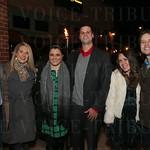 Eric Norrington, Allie Rawley, Katie and Derek Traughber. Liz and Corey Richter.