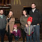 Kris, Brittney and Grace Gorter, Brandi, Leland and Tim Bernauer.