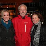 Dr. Maria Bowling, Dan and Patti Bowling.