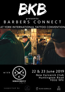 BKB Tattoo Convention Poster