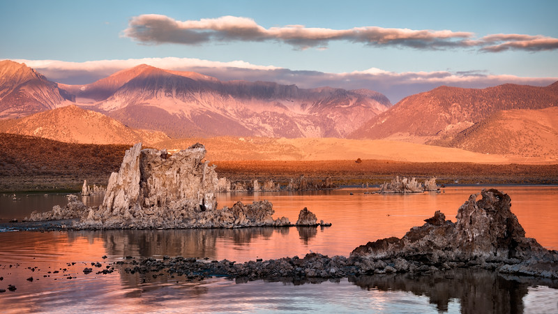 Orange Tufa Sunrise
