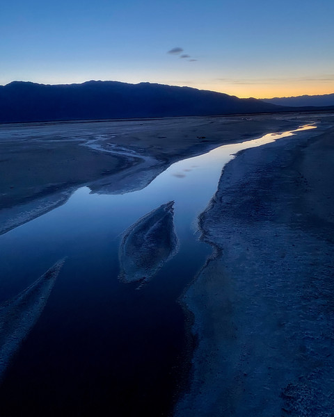 Salt Creek at Blue Hour