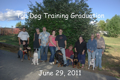 Top Dog Graduation June 29, 2011 pm