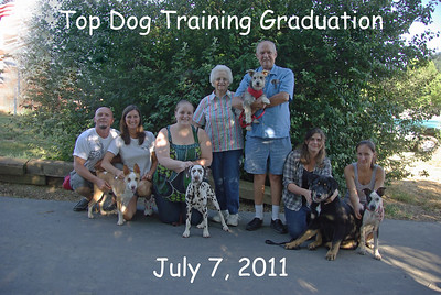 Top Dog Graduation 7-7-11