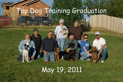 Top Dog Graduation May 19, 2011