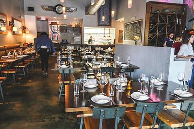 Barley - An American Brasserie, inside