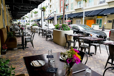 Barley - An American Brasserie, outdoor seating