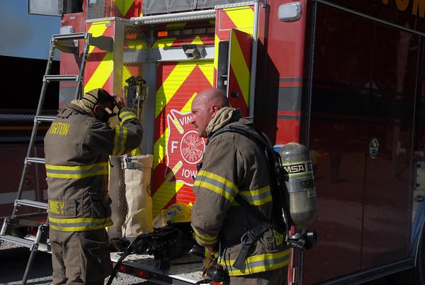 Barn Fire destroys hay, equipment