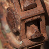 Rusty Chain on Gear