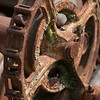 Full Rusted Gear with Chain
