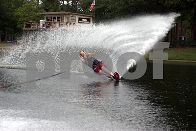 Jim Bowron Cuttin' it at Trophy Lakes