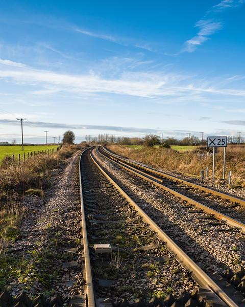 Barnby Dun rail crossing