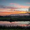 Barnby Dun canal at sunset