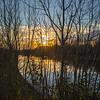 Sunset over Barnby Dun canal