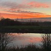 Sunset on the canal, Barnby Dun     iPhone XS