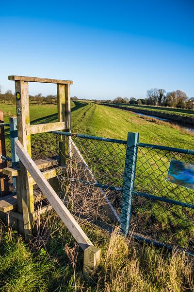Stile at Bramwith lock