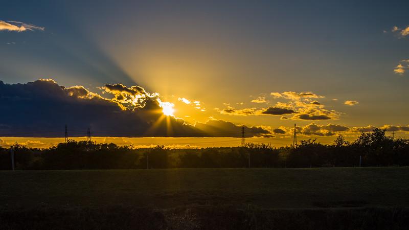 Barnby Dun sunset