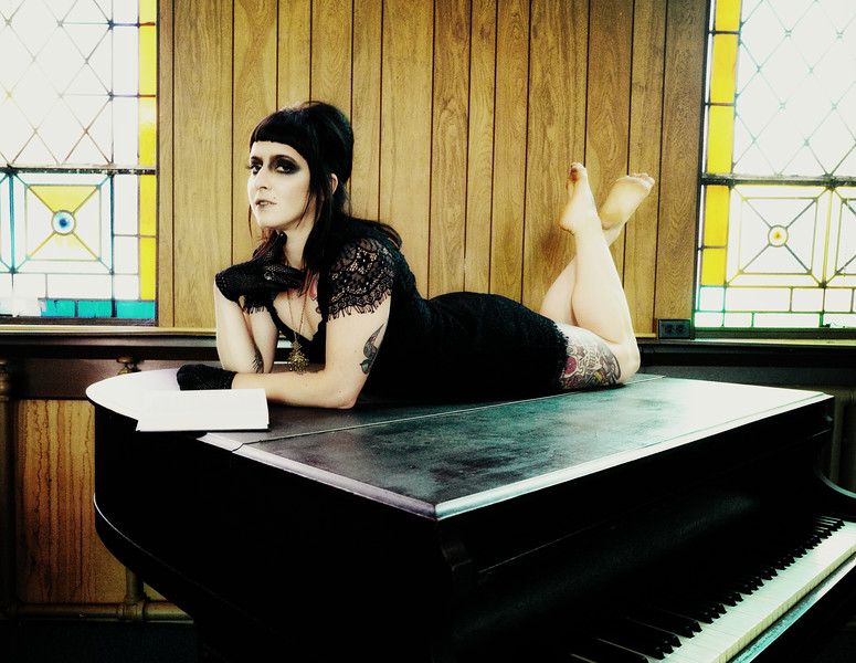 Lisa and the Church Piano