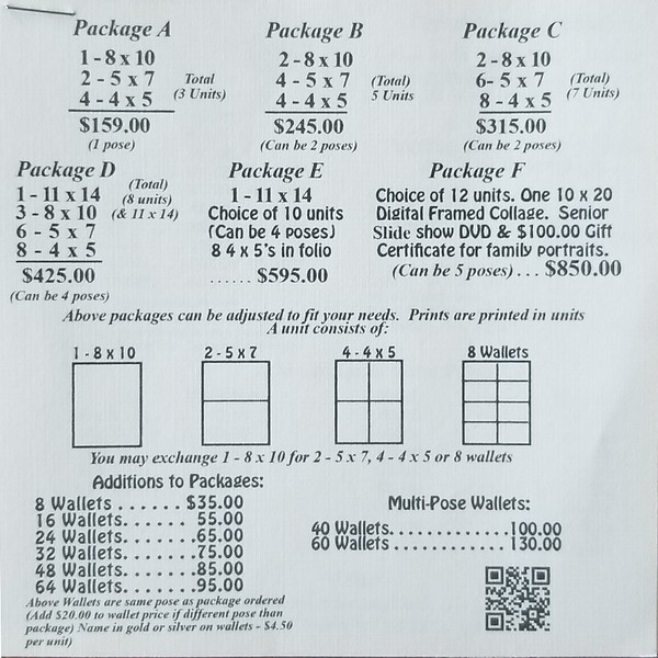 Page l Sr  Price List