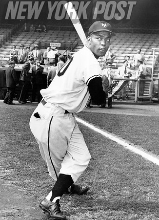 New York Giants Hall of Famer Monte Irvin