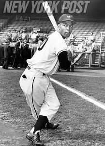 New York Giants Hall of Famer Monte Irvin