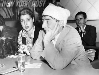 Diana Barrymore and John MacNeil at the York Inn.