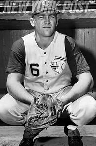 Cincinnati Reds All-Star Catcher, Ed Bailey. 1966