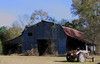 Vaiden Mississippi Barn with Tractor