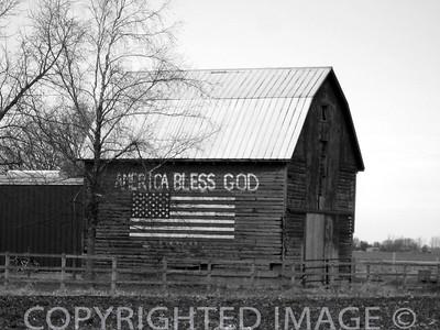 Barns (B&W)