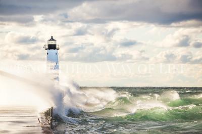 Manistee Lighthouse: Manistee, Michigan
