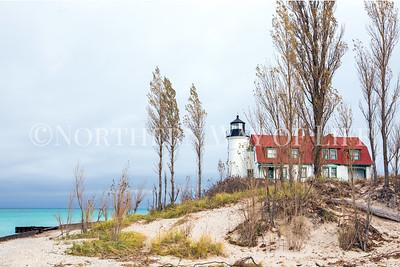 Point Betsie Light: Frankfort, Michigan