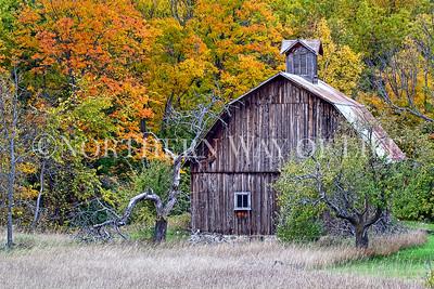 Autumn Splendor at the Bufka Farm: Leelanau County, Michigan