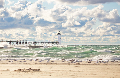 Manistee Light: Manistee, Michigan