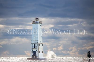 Frankfort Light: Frankfort, Michigan