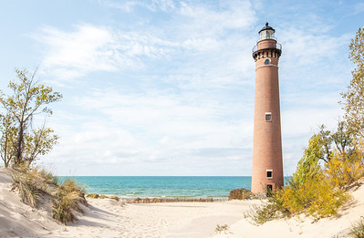 Little Sable Light: Mears, Michigan