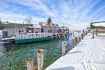 Winter in Fishtown, Leland