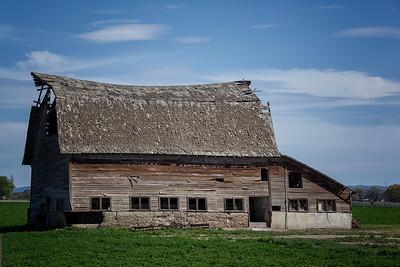 Old barn falling down Sunnyside Mabton Rd 3-29-15