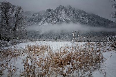 Mount Si Christmas Snow Pasture