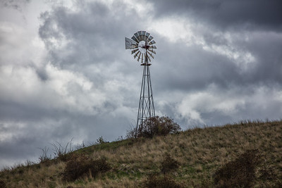 Windmill Palouse near Steptoe WA 4-23-17