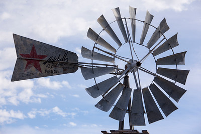 Old windmill Bickleton WA museum 3-29-15